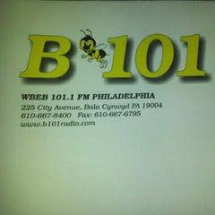 Photo taken at More FM Studios (WBEB-FM) by Robin J. on 8/30/2012