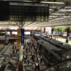 Photo taken at Perth Station by Phil N. on 2/13/2012