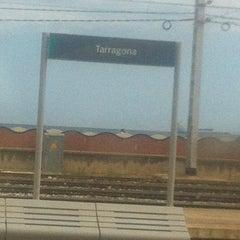 Photo taken at Estació de Tarragona by Marina V. on 5/14/2012