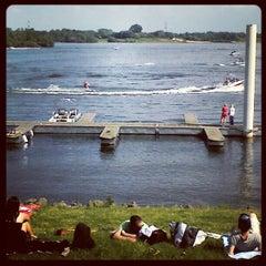 Photo taken at Watersportclub Aldeneiker Plas (WAP) by Gijs N. on 5/20/2012