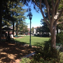 Photo taken at Los Gatos Town Plaza by Tami K. on 8/29/2012