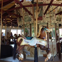 Photo taken at Congress Park Carousel by miss hoe on 9/1/2012