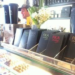 Photo taken at FIKA Espresso Bar by Jin E. on 5/29/2012