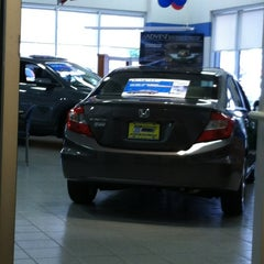 Photo taken at Route 23 Honda by Eric on 6/19/2012