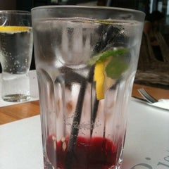 Photo taken at Jazz Bistro by Ewa on 8/25/2012