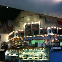 Photo taken at 42nd Street Bagel Cafe by Whitney L. on 11/12/2011