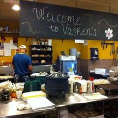 Photo taken at Vaskens Deli by David A. on 8/1/2011