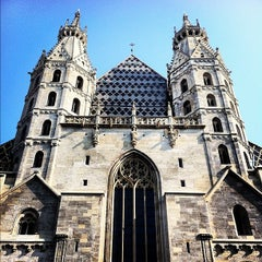 Photo taken at Stephansdom | St. Stephen's Cathedral by Gurdal T. on 9/2/2012