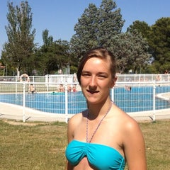 Photo taken at Camping Ciudad de Zaragoza by Katinka D. on 7/10/2012