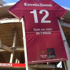 Photo taken at Gimnàstic de Tarragona by Joan Carles G. on 8/8/2011