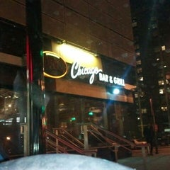 Photo taken at Uno Chicago Grill   Jersey City by Rhonda M. on 12/31/2011