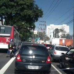 Photo taken at Avenida Santo Amaro by Karla J. on 5/23/2012
