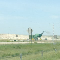 Photo taken at Wall Drug by South Dakota D. on 5/16/2012