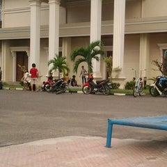 Photo taken at Bunderan kantor gubernur jambi by Samjoy A. on 4/29/2012