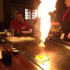 Photo taken at Genji Japanese Steakhouse - Dublin by Lynn H. on 11/25/2011