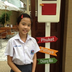 Photo taken at Baan Dinso Hostel (บ้านดินสอ) by Suttinee K. on 5/9/2012