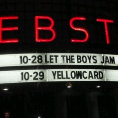 Photo taken at The Webster Theater by Mike M. on 10/29/2011