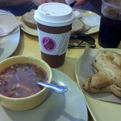 Photo taken at Panera Bread by Carla F. on 10/3/2011