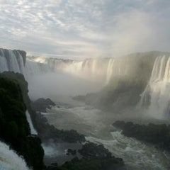 Photo taken at Cataratas del Iguazú by Steve L. on 12/27/2011