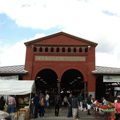 Photo taken at Eastern Market by Eric W. on 9/24/2011