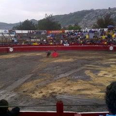 Photo taken at San Pedro Xalostoc by Fabiie on 7/15/2012