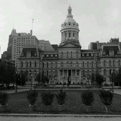 Photo taken at Baltimore City Hall by James M. on 11/13/2011