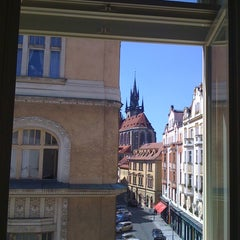 Photo taken at Barceló Old Town Praha by Ju M. on 8/20/2011