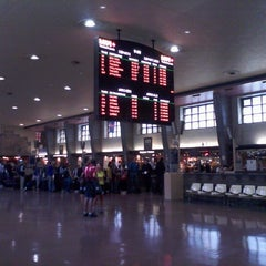 Photo taken at Gare Centrale by Cristina E. on 9/3/2012