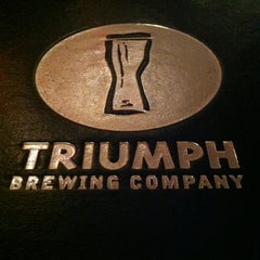 Photo taken at Triumph Brewing Company by Bryan B. on 6/1/2012
