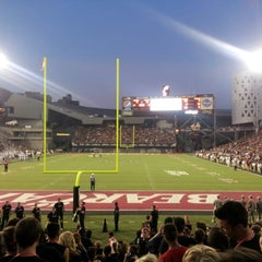 Photo taken at Nippert Stadium by Matt S. on 9/7/2012