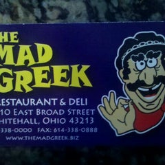 Photo taken at The Mad Greek by Steven S. on 12/1/2011