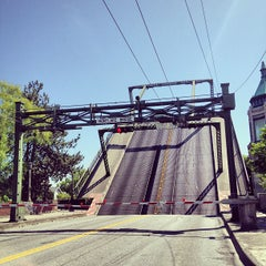 Photo taken at Montlake Bridge by Josh S. on 5/12/2012