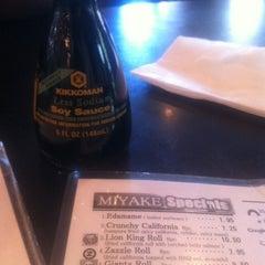 Photo taken at Miyake by Yancie D. on 8/27/2012