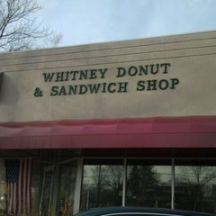 Photo taken at Whitney Donut Shop by Aldon H. on 1/8/2012