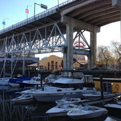 Photo taken at Granville Island by Mint H. on 3/23/2012