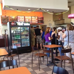 Photo taken at Dunkin Donuts by Camilla S. on 8/16/2012