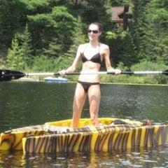 Photo taken at Juncob Lake by Melissa F. on 7/16/2011
