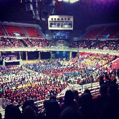 Photo taken at Roberto Clemente Coliseum by Natalia A. on 4/21/2012