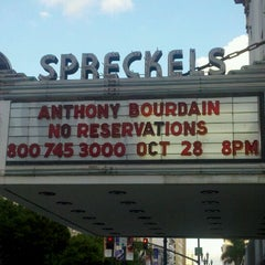 Photo taken at Spreckels Theatre by Comic-Con G. on 10/7/2011