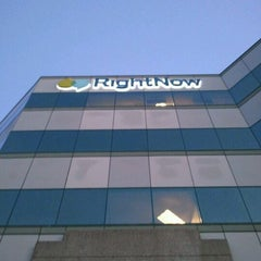 Photo taken at RightNow San Mateo Office by Aaron H. on 1/4/2012
