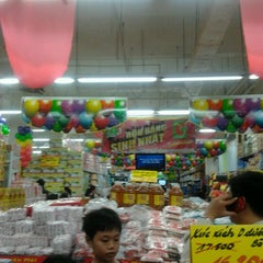Photo taken at Big C Mien Dong by BichLoan on 9/1/2012