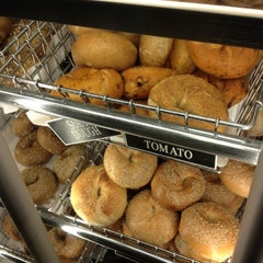Photo taken at Montague Street Bagels by Ana S. on 3/23/2012