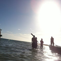 Photo taken at Playa Langosta by Gustavo V. on 8/11/2012