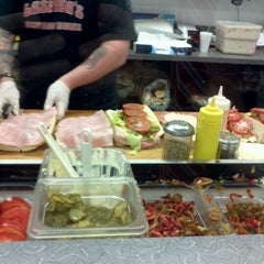 Photo taken at Laspada's Original Hoagies by Virgil S. on 12/23/2011