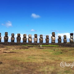 Photo taken at Isla de Pascua | Rapa Nui by Lulu on 3/19/2012