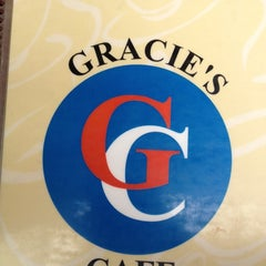 Photo taken at Gracie's Cafe by Nicole on 8/19/2012