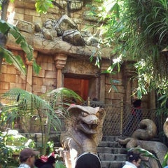 Photo taken at Indiana Jones Adventure by Steve M. on 11/26/2011