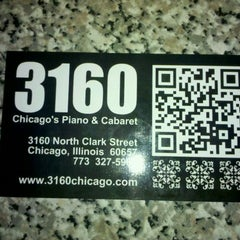 Photo taken at 3160 - Chicago's Piano & Cabaret by Tony M. on 1/29/2012