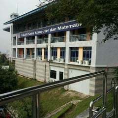 Photo taken at Faculty of Computer and Mathematical Sciences by Nursyafiqah A. on 1/18/2012