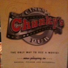 Photo taken at Chunky's Cinema Pub by Jason S. on 5/20/2011